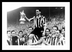 Newcastle United 1952 FA Cup Final Team Photo Memorabilia