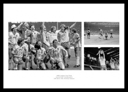 Norwich City Memorabilia - 1985 League Cup Final Photo Montage