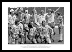 Norwich City 1985 League Cup Final Team Photo Memorabilia
