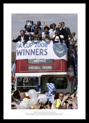 Portsmouth FC 2008 FA Cup Final Celebrations Photo Memorabilia
