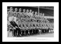 Rangers FC 1978 Treble Winning Squad Photo Memorabilia
