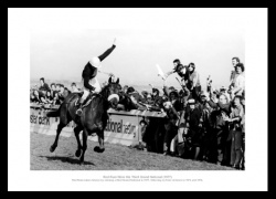 Red Rum 3rd Grand National Win Photo Memorabilia