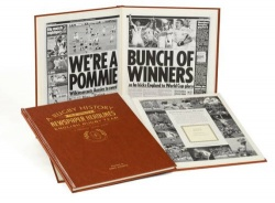 Personalised England Rugby Historic Newspaper Book