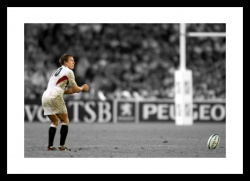 Jonny Wilkinson 2003 Rugby World Cup Spot Colour Photo Memorabilia