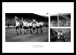 Tottenham Hotspur 1961 FA Cup Final Photo Memorabilia