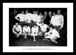 Tottenham Hotpsur 1971 League Cup Final Team Photo Memorabilia