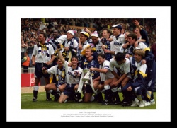 Tottenham Hotspur 1991 FA Cup Final Team Photo Memorabilia