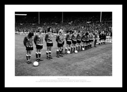 Sunderland AFC 1973 FA Cup Final Team Photo Memorabilia