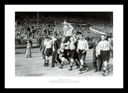 Sunderland 1937 FA Cup Final Team Photo Memorabilia