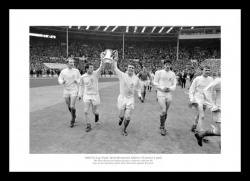 West Bromwich Albion 1968 FA Cup Final Team Photo Memorabilia