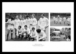 West Bromwich Albion 1968 FA Cup Final Photo Montage