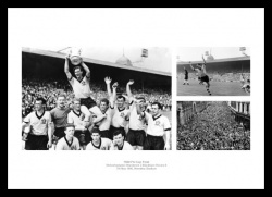 Wolverhampton Wanderers 1960 FA Cup Final Photo Memorabilia